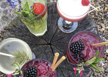 5 cocktail drinks inspired by the garden